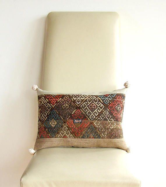 Kilim Pillow Turkish Pillow Kelim Pillow Bohemian living