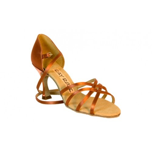 Ray Rose 835 Monsoon dark tan  The Monsoon is a classic four strap style sandal; the front of the shoe is made from fully lined stripping. This gives a firm fitting and, as always with Ray Rose Shoes, total support.  The Monsoon has a rounded back.  Price: 91.30€
