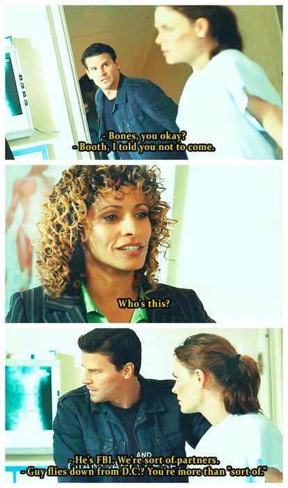 Booth and Bones (: