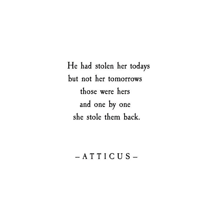 'Tomorrows' #atticuspoetry #atticus #poetry #loveherwild