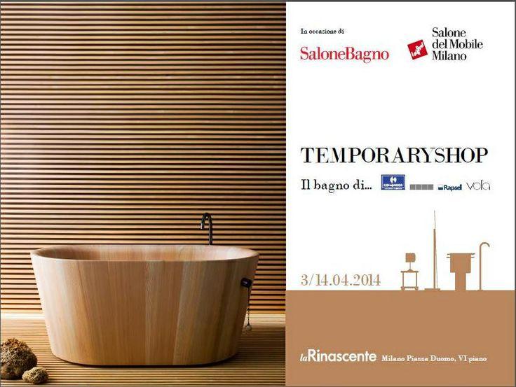 Rapsel will have a Temporary Shop @Paola Mitch Milano - Duomo square for Salone del Mobile!