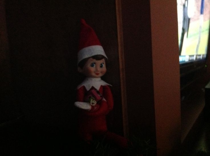 Candy cane, our elf!