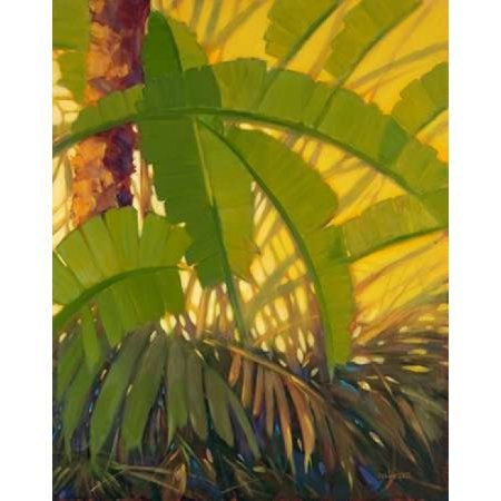 Sunshine Tropics 2 Canvas Art - J Charles (24 x 30)