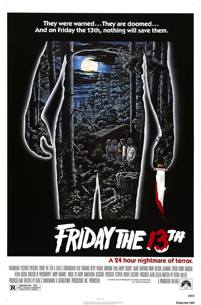 Friday The 13th (1980) - Το «Friday the 13th» μας μεταφέρει στο ειδυλλιακό περιβάλλον της κατασκήνωσης Crystal Lake και παρακολουθεί μια παρέα νέων που κατασκηνώνει εκεί αγνοώντας τον κίνδυνο που τους περιμένει. Ένας μανιακός δολοφόνος βρίσκεται «επί το έργον» σπέρνοντας τον πανικό. #FridayThe13th