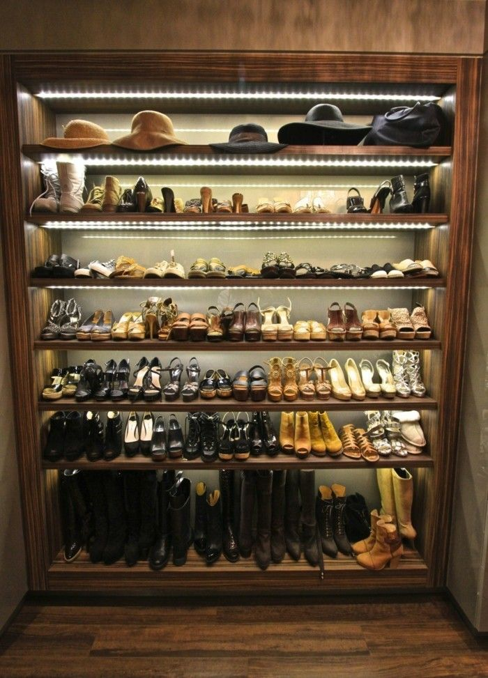 Meuble A Chaussures Plus De 50 Exemples En Photos Pour Vous Meuble Chaussure Porte Accordeon Panier Rotin