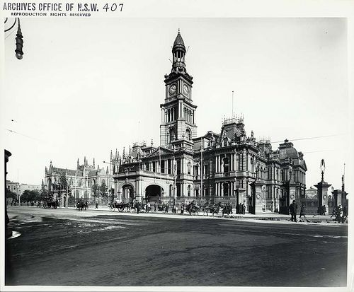 Town Hall, Sydney by State Records NSW, via Flickr