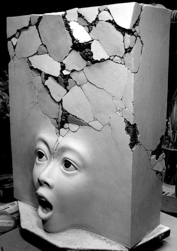 Les incroyables sculptures surréalistes de Johnson Tsang Photo