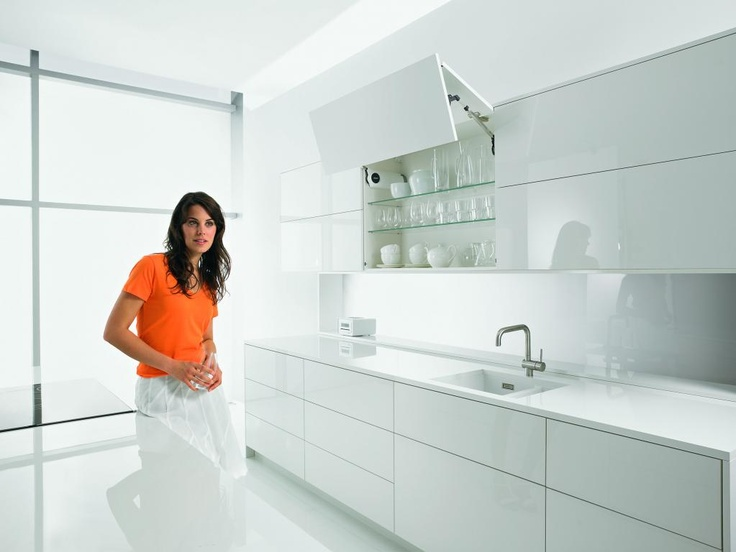 #Blum #kitchen - almost what I want - just needs cupboards all the way to ceiling.