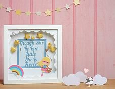 Pink Puffin Crafts | Framed Collection | SuperFierce | £32 | www.pinkpuffincrafts.co.uk