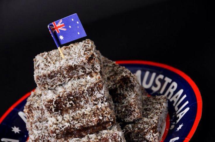 Lamington stack Australia Day