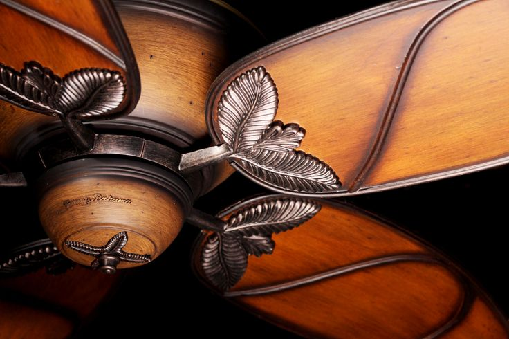 Paradise Key By Tommy Bahama The Indoor, Tropical Style, Medium Antique  Brown Paradise Key. Tropical Ceiling FansFan BladesLight ...