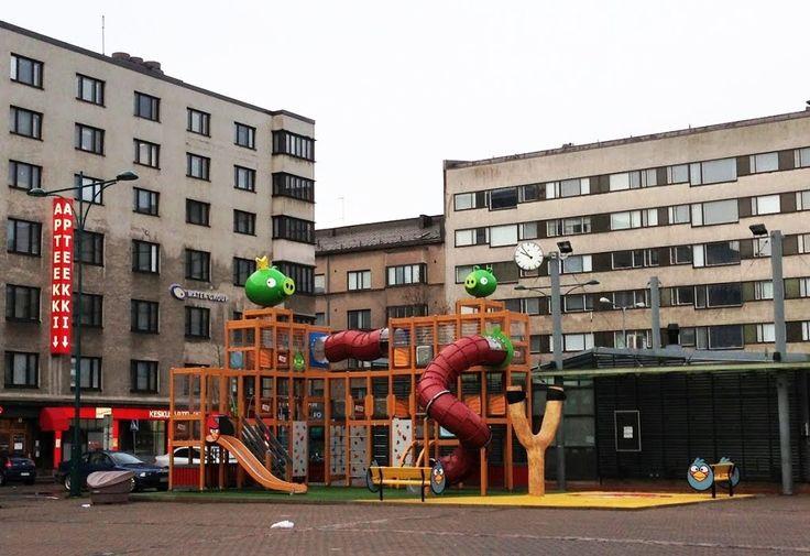 Angry Birds park in Pori