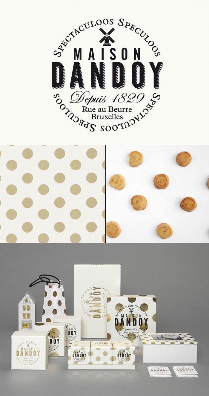 //The Dieline Package Design Awards 2013: Confectionary, Snacks, & Desserts, Merit -Maison Dandoy/Designed by Base Design //