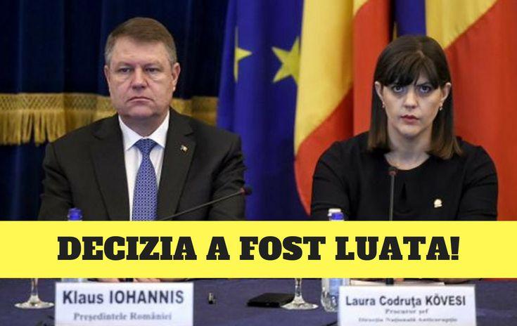 ULTIMA ORA! Președintele a luat DECIZIA FINALĂ în cazul Laurei Codruța Kovesi! Șoc în România!