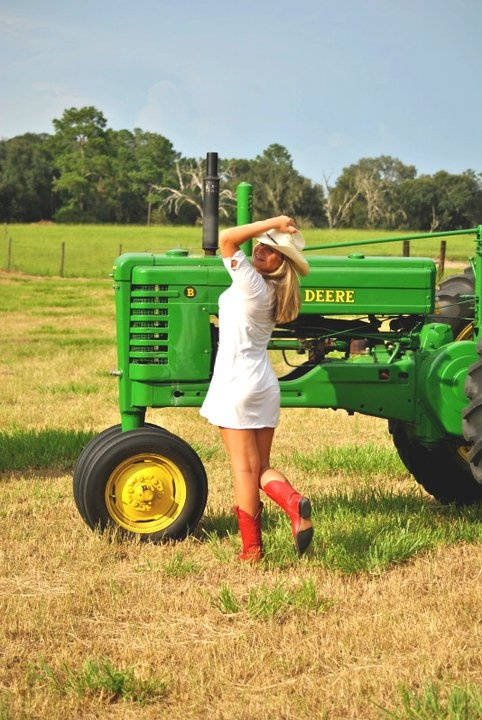 John Deere Girls : Country life with john deere farm pinterest