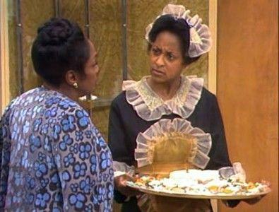 marla gibbs | Marla Gibbs è Florence nell\episodio Mr. Piano Man de I Jefferson