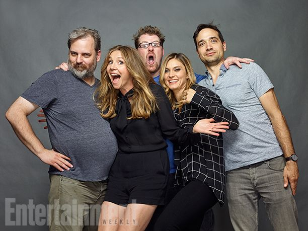 Dan Harmon, Sarah Chalke, Justin Roiland, Spencer Grammer, and Ryan Ridley, 'Rick and Morty'