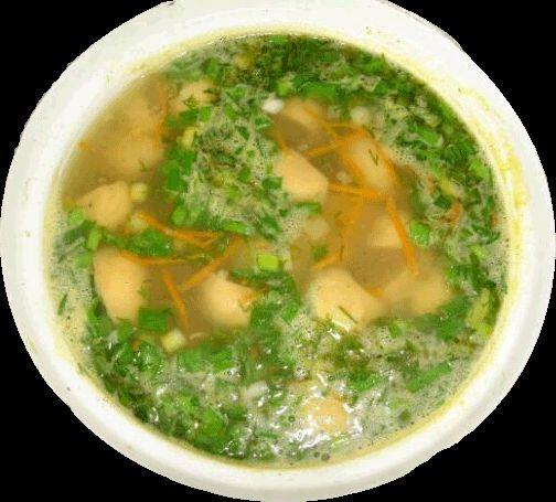 Грибно суп пюре из шампеньйонов рецепт