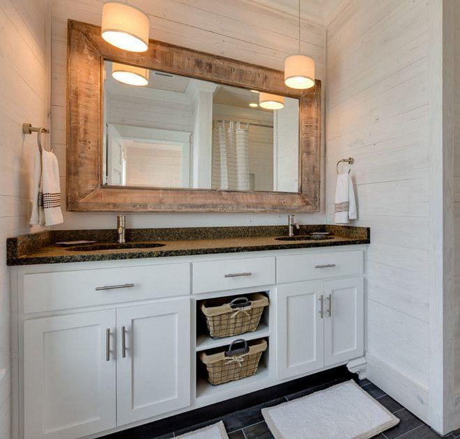 Shiplap Bathroom Vanity: 1000+ Images About Bathrooms On Pinterest