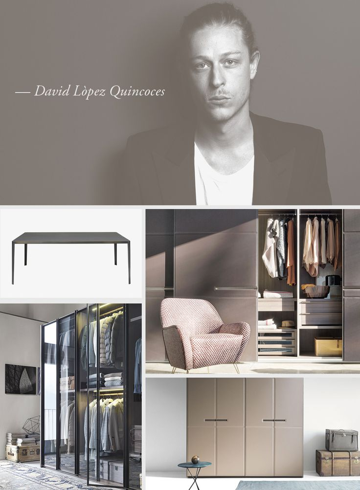 LEMA | David Lopez Quincoces opened his own studio (Quincoces-Dragò & partners), based in Madrid and Milan, where today he practices architecture, graphics, interior and industrial design.