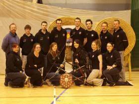 Winning Team of DCU Archery Club. #dcu