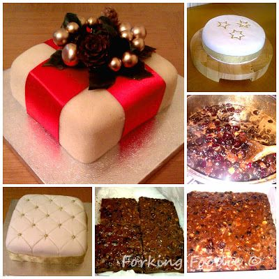 Forking Foodie: Luxury Fruit Christmas Cake (includes Thermomix me...