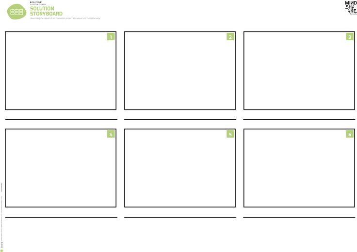 STORYBOARDING_ EVOLUTION 6² Mindshake's Innovation & Design Thinking Model TEMPLATES (2017) TEMPLATES PDF: http://www.mindshake.pt/public/download/E5%3C%3E2_storyboard_A1.pdf