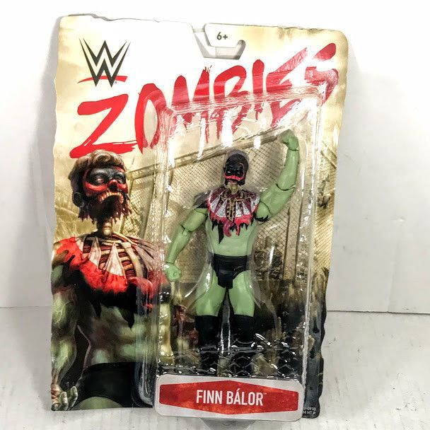 Finn Balor WWE Zombies Series 3 Mattel Toy Wrestling Action Figure