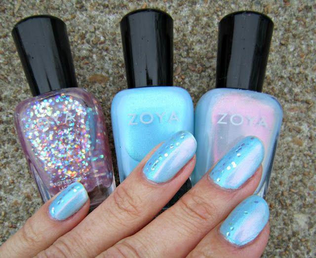 Beton und Nagellack – Zoya: Rayne, Raine und Monet – #NailedIt