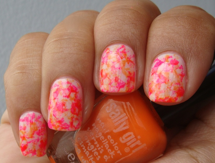 Nail Art Designs Using Sponge The Best Inspiration For Design And