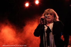Marianne Faithful live in Athens,   Penelope Tripatzi photography