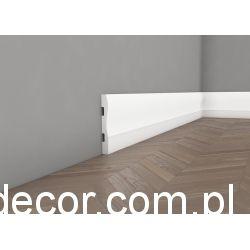 Listwa przypodłogowa lakierowana biała QS008P One /14,5cm