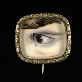 Eye  ca. 1900  Unidentified  watercolor on ivory  sight 3/4 x 3/4 in. (1.8 x 1.9 cm) oval  Smithsonian American Art Museum  Gift of Henry D. Hill  1967.110  Smithsonian American Art Museum  3rd Floor, Luce Foundation Center