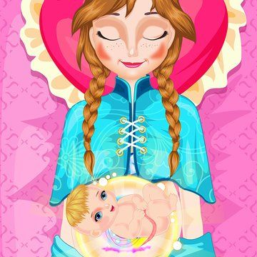 Pin for Later: This Frozen App About Anna Giving Birth Is Insanely Weird