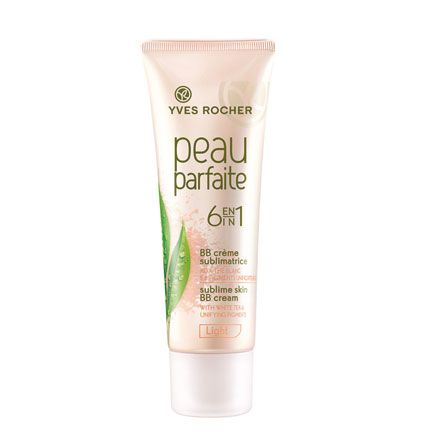 Yves Rocher : Sublime Skin BB Cream 6 in 1 Gentle for sensitive skin & the smell is indeed sublime