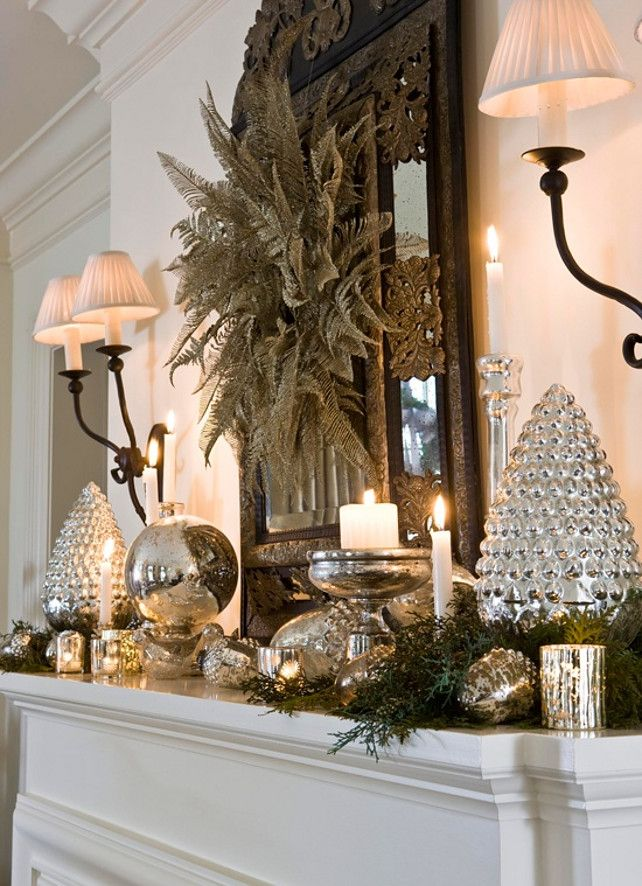 Best Silver Christmas Magic Images On Pinterest Christmas