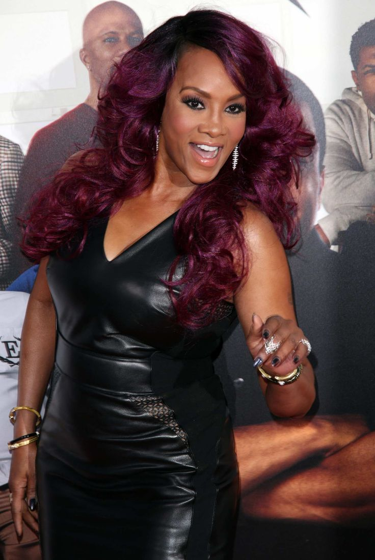 Vivica wrap dress - Vivica A Fox Attends The Premiere Of Barbershop The Next Cut Females Pinterest Barbershop Foxes And Scream Queens