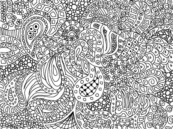 paisley design coloring pages animals visit katahrens deviantart com