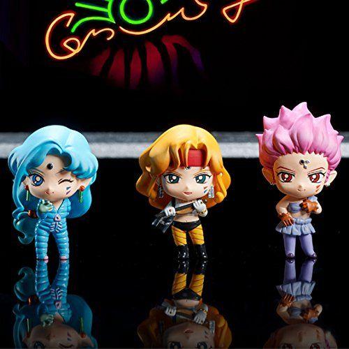 Megahouse Sailor Moon Super S Petit Chara Figures Set Meg...