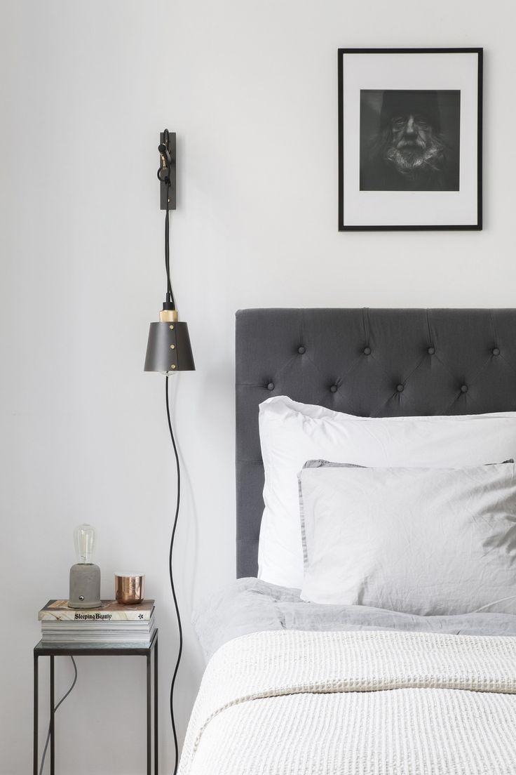 Sara Medina Lind | Grey bedroom