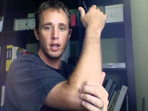 Tennis Elbow Massage - YouTube