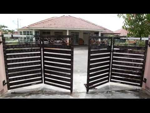 Double Swinger Wood Driveway Gates: Wrong vs. Right Update 10/21/16: Check out my latest videos for my latest new, stronger and better design!