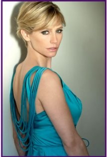 """Meredith Monroe as Aaron Hotchner's late wife, Haley Hotchner, in the Criminal Minds episode, """"Route 66"""""""