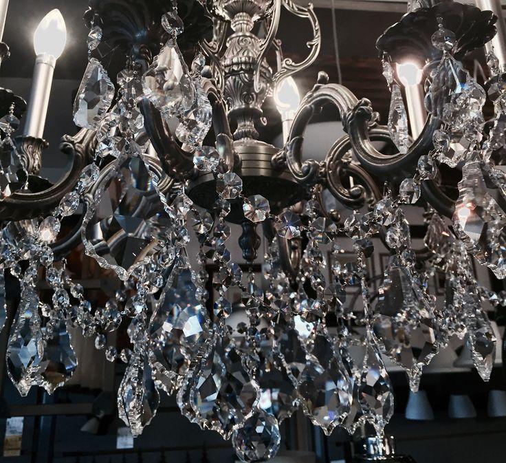 #crystal #chandeliers #LivingLighting #Gravenhurst