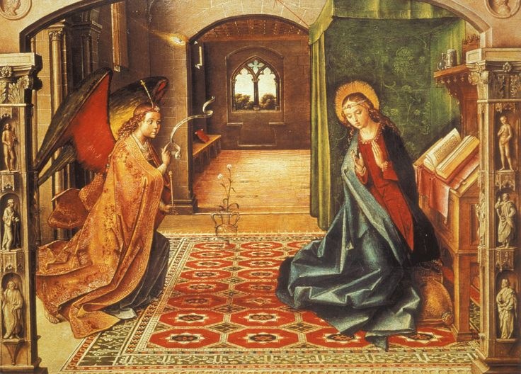 Paintings Of The Annunciation Fittex Bil Google The