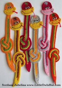 Snake crochet pattern