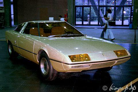 Bertone Citroen GS Camargue 1972 ベルトーネ シトロエン GS カマルグ - BEAUTIFUL CARS OF THE…