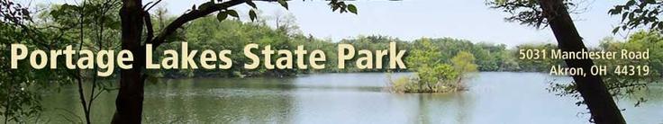 Portage lakes state park akron ohio campground for Portage lakes fishing