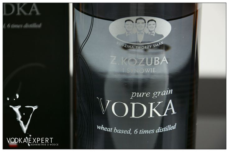 Vodka Kozuba Pure Grain .