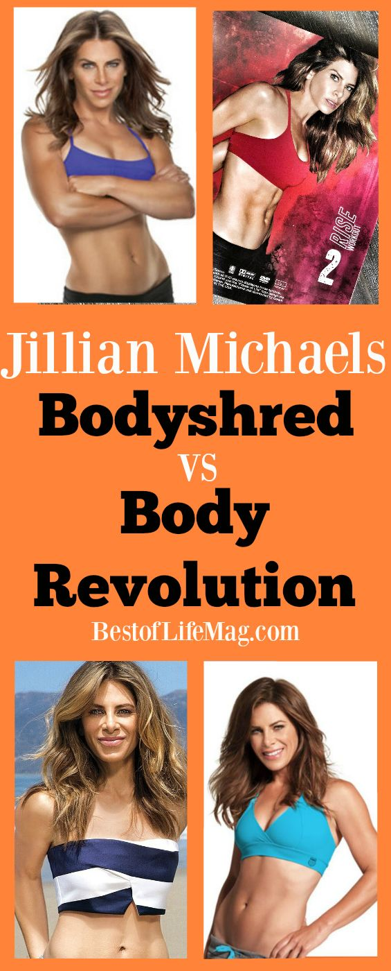 Have you been wanting to look at Jillian Michael's Body Revolution vs Bodyshred so you know which workout program to choose? Our workout comparsion will help you decide and get started!